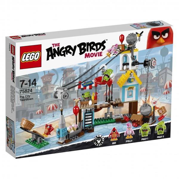 LEGO® Angry Birds 75824 Pig City Teardown