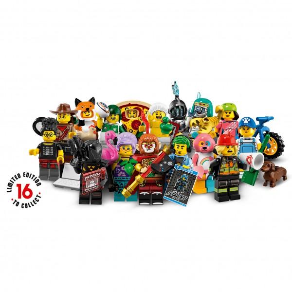 LEGO® 71025 Minifiguren Serie 19 - alle 16 Figuren