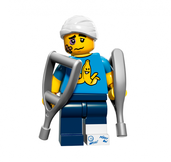 LEGO® Minifiguren Serie 15 - Tollpatsch 71011-04