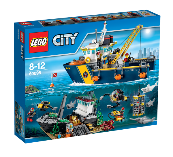 LEGO® CITY 60095 Tiefsee-Expeditionsschiff