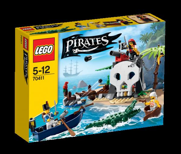LEGO® Pirates 70411 Piraten-Schatzinsel