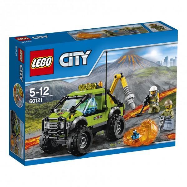 LEGO® CITY 60121 Vulkan-Forschungstruck
