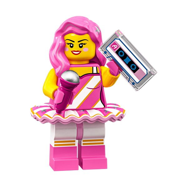 LEGO® Movie 2 Minifigur 71023-11: Candy Rapper