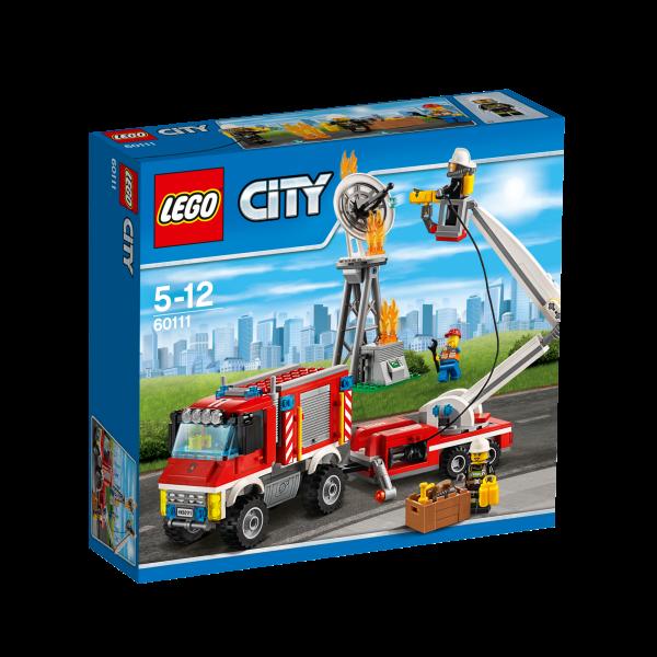 LEGO® CITY 60111 Feuerwehr-Einsatzfahrzeug