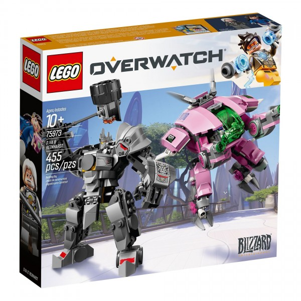 LEGO® Overwatch® 75973 D.Va & Reinhardt