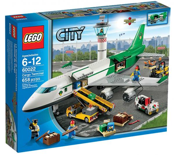 LEGO® CITY 60022 Großes Frachtflugzeug