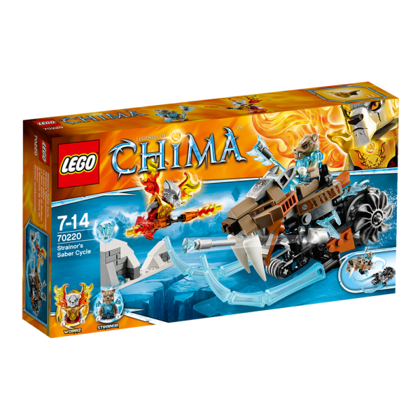 LEGO® Chima 70220 Strainors Säbelzahnmotorrad