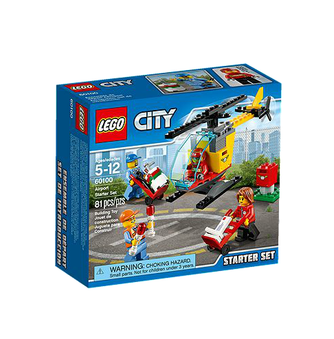 LEGO® CITY 60100 Flughafen Starter-Set
