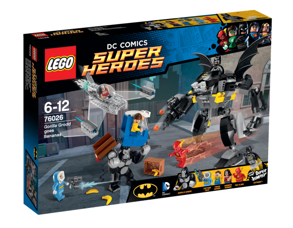LEGO® DC Universe Super Heroes 76026 Gorilla Grodds Wutanfall