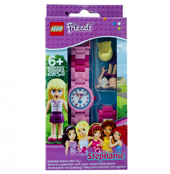 LEGO® Friends 9001024 Stephanie-Armbanduhr mit Spielfigur