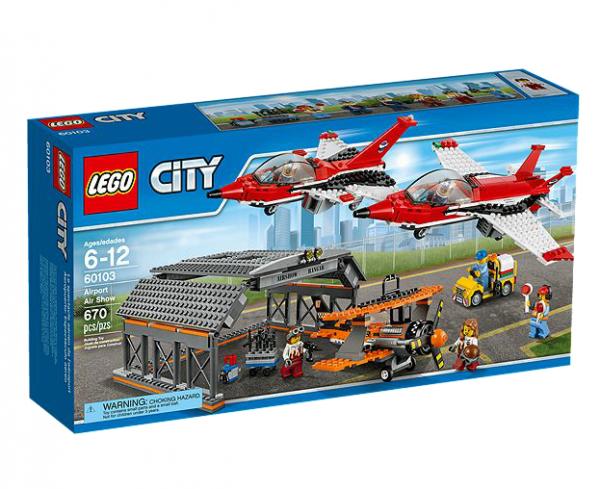 LEGO® CITY 60103 Große Flugschau
