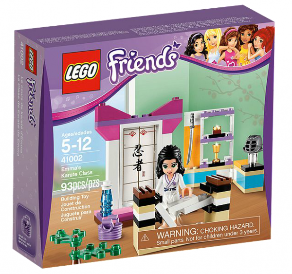 LEGO® Friends 41002 Emmas Karatekurs