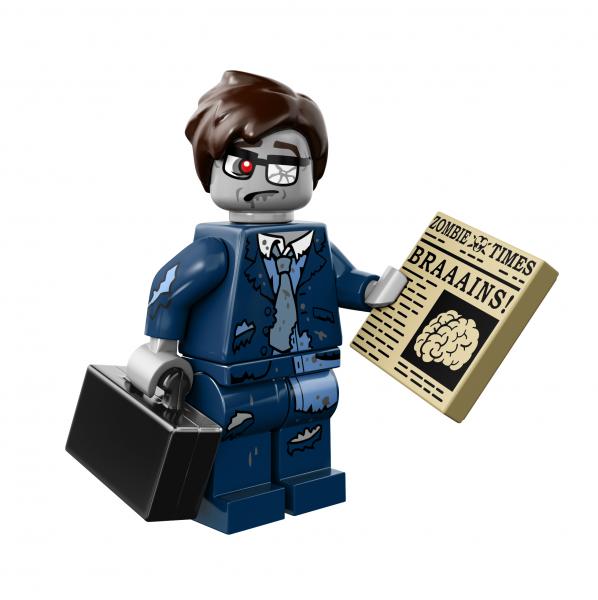 LEGO® Monster Minifigures Serie 14 - Zombie-Geschäftsmann 71010-13