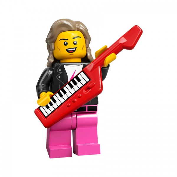 LEGO® Minifigur Serie 20 71027-14: 80er-Jahre-Popstar