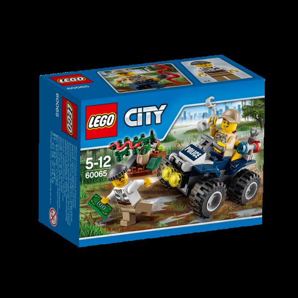 LEGO® CITY 60065 Auf Streife im Sumpfpolizei-Quad