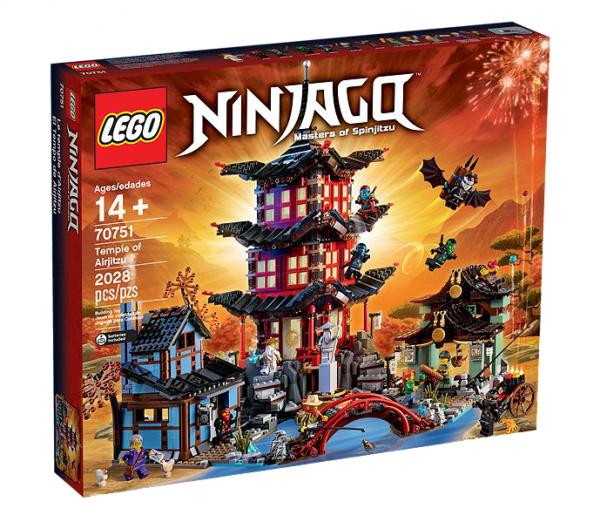 LEGO® Ninjago 70751 Tempel des Airjitzu