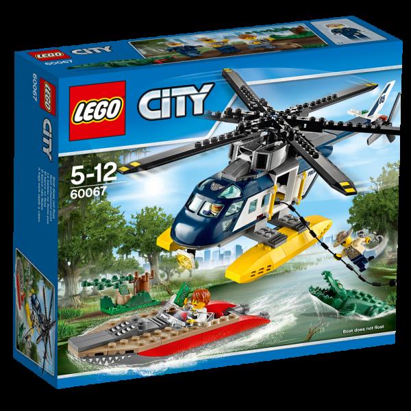 LEGO® CITY 60067 Verfolgungsjagd im Hubschrauber