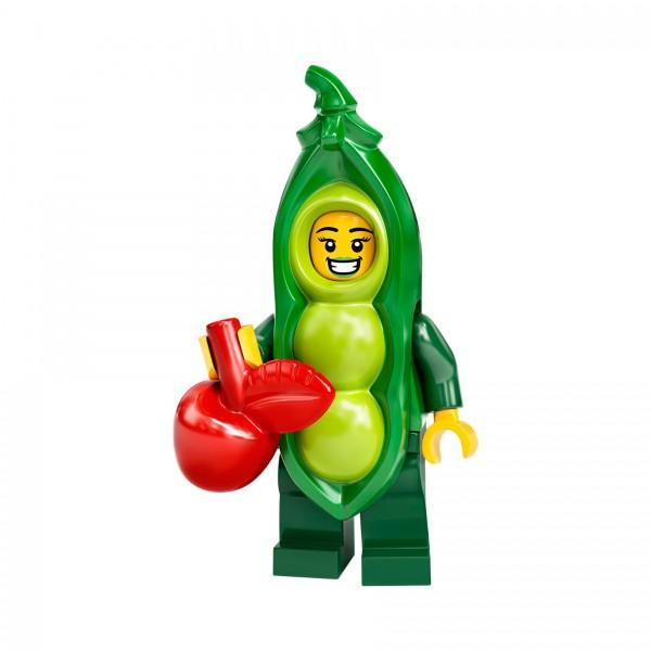LEGO® Minifigur Serie 20 71027-03: Mädchen im Erbsenschotenkostüm