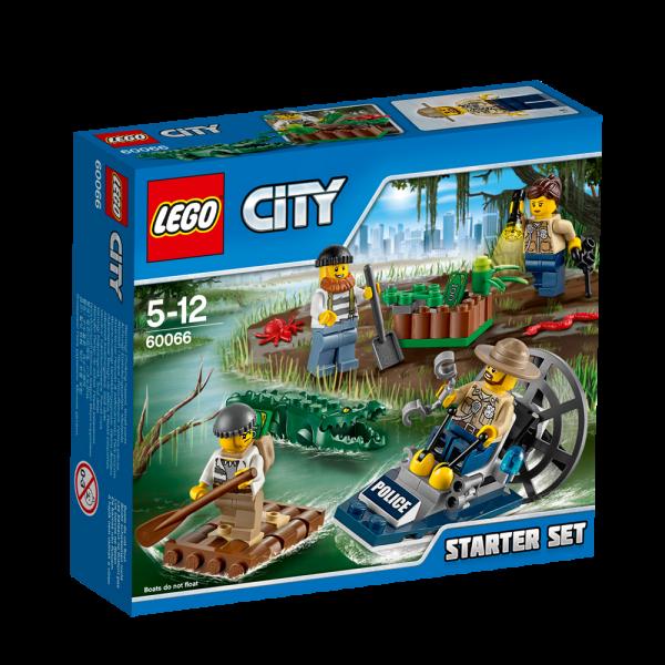 LEGO® CITY 60066 Sumpfpolizei Starter-Set