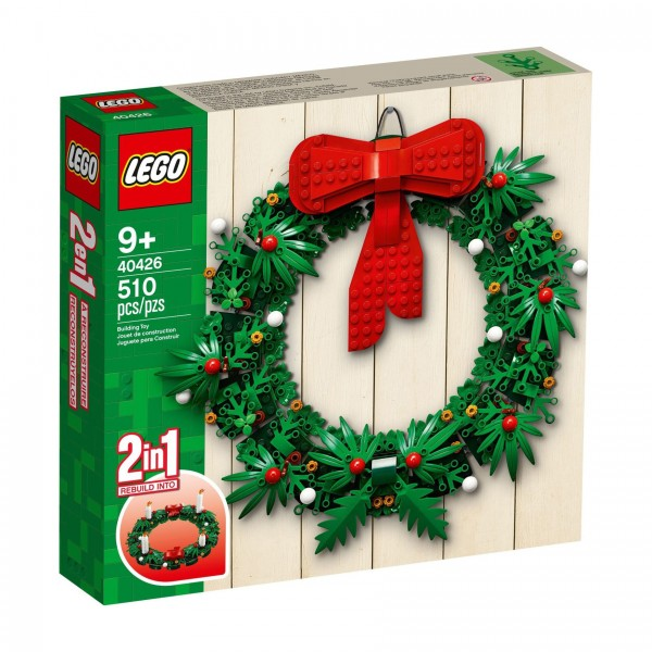 LEGO® 40426 2-in-1 Adventkranz