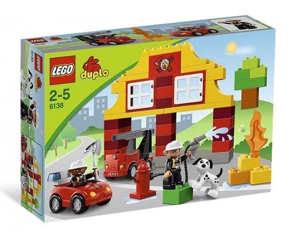 LEGO® DUPLO 6138 Meine erste Feuerwehrstation