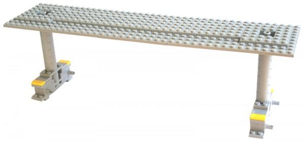 derKlassiker 1133 modularer Bahnsteig mit Dach