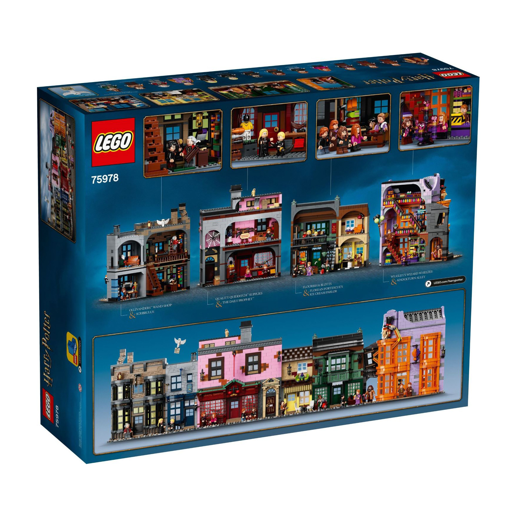 Alle 16 Figuren der LEGO® Harry Potter™ 71028 Minifiguren