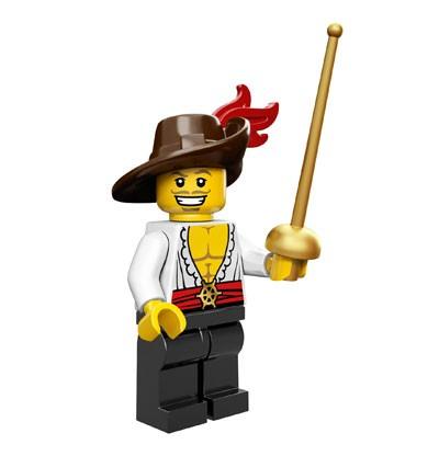 LEGO® Minifiguren Serie 12 - Swash Buckler 71007-03