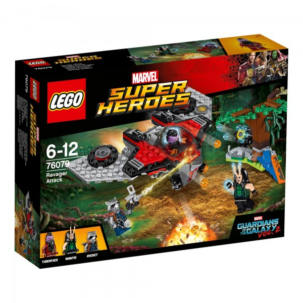 LEGO® Marvel Super Heroes 76079 Ravager-Attacke