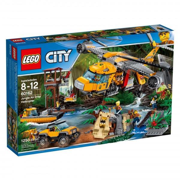 LEGO® CITY 60162 Dschungel-Versorgungshubschrauber