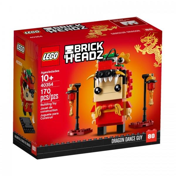 LEGO® BrickHeadz 40354 Drachentanz-Mann