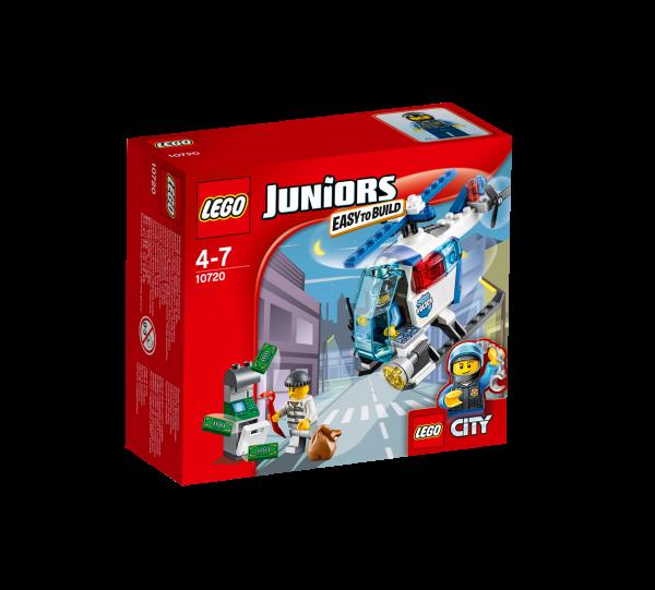 LEGO® Juniors 10720 Verfolgung mit dem Polizeihelikopter