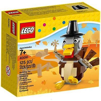 LEGO® 40091 Erntedank-Truthahn