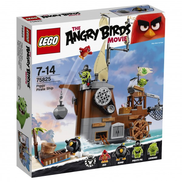 LEGO® Angry Birds 75825 Piggy Pirate Ship
