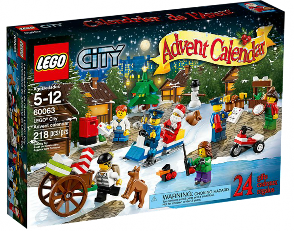 LEGO® CITY 60063 Adventskalender