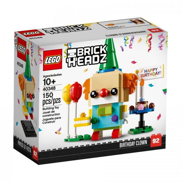 LEGO® BrickHeadz 40348 Geburtstagsclown