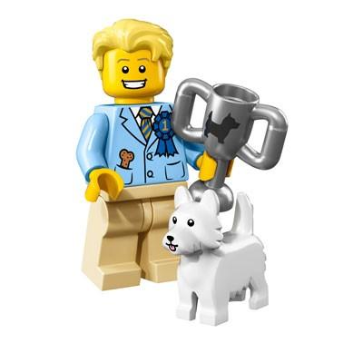 LEGO® Minifiguren Serie 16 - Hundeschau-Sieger 71013-12
