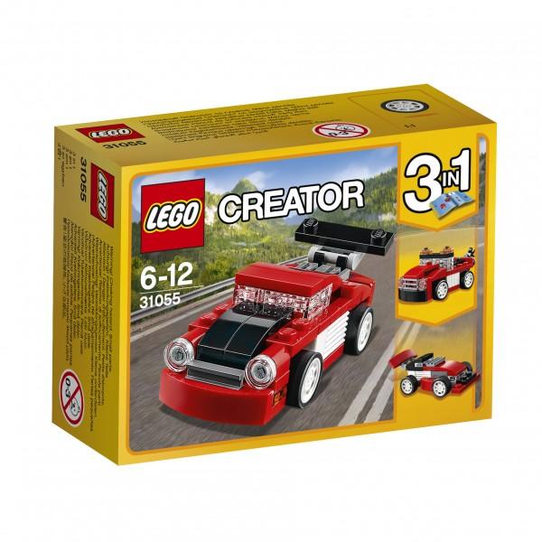 LEGO® Creator 31055 Roter Rennwagen