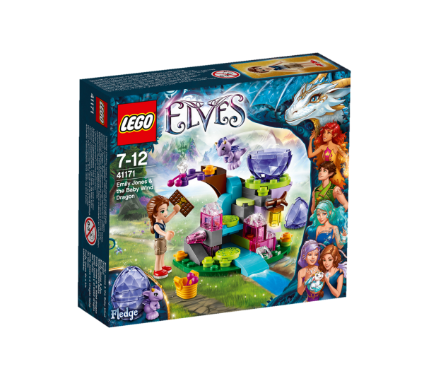 LEGO® Elves 41171 Emily Jones & das Winddrachen-Baby