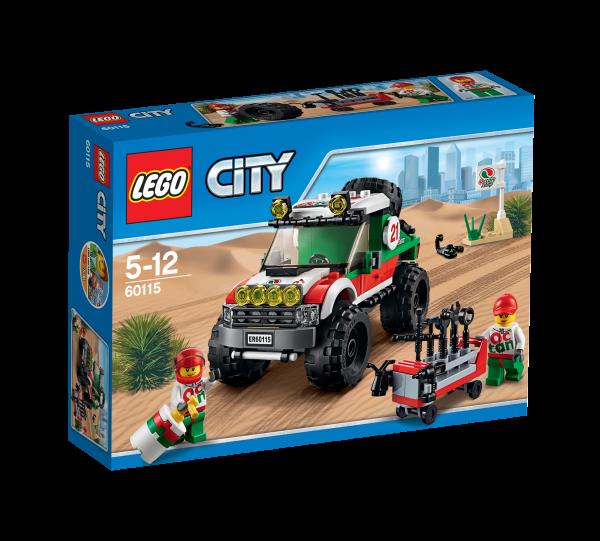 LEGO® CITY 60115 Allrad-Geländewagen