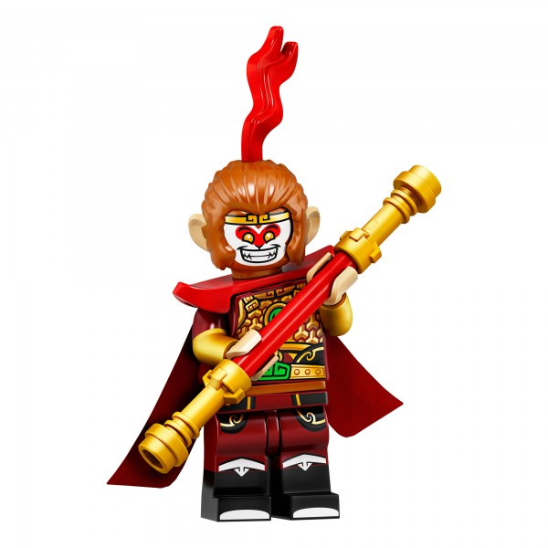 LEGO® Minifigur Serie 19 71025-04: Affenkönig