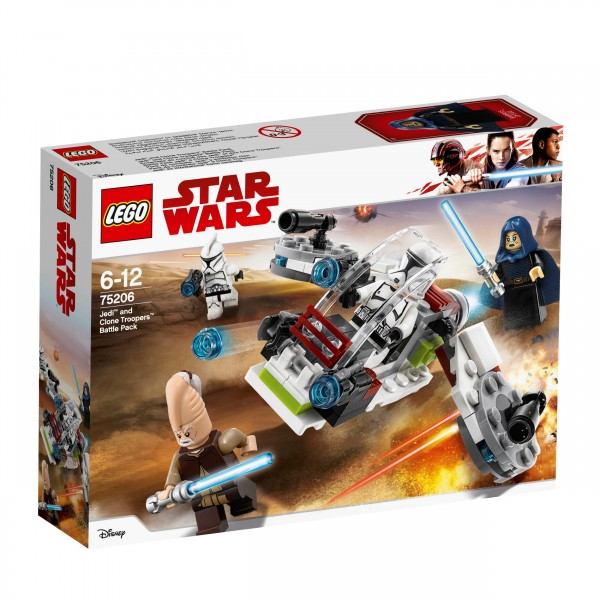 LEGO® Starwars 75206 Jedi und Clone Troopers Battle Pack