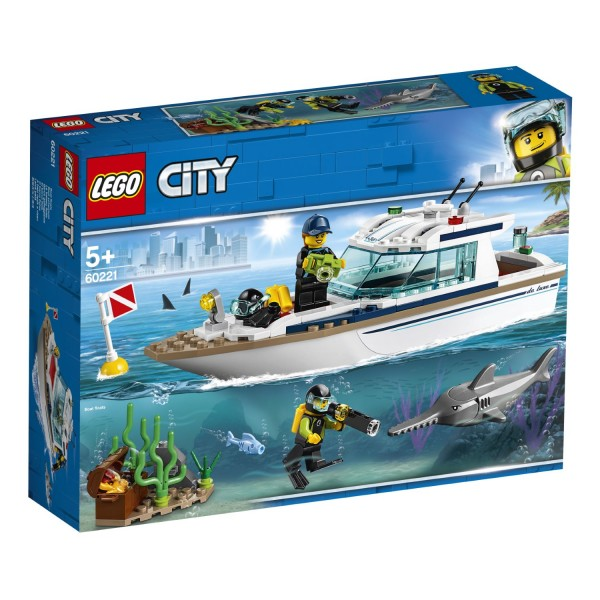 LEGO® CITY 60221 Tauchyacht