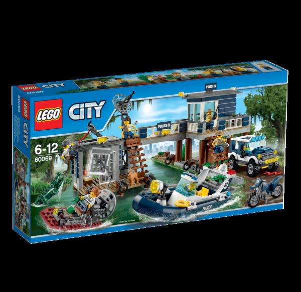 LEGO® CITY 60069 Polizeiwache im Sumpf