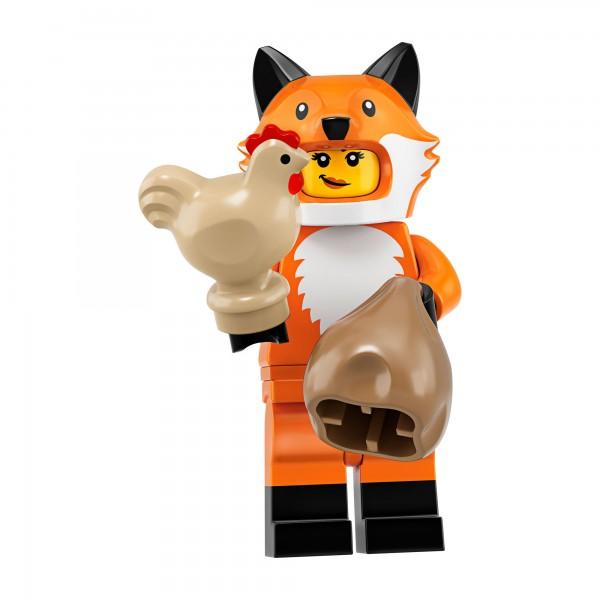 LEGO® Minifigur Serie 19 71025-14: Mädchen im Fuchskostüm