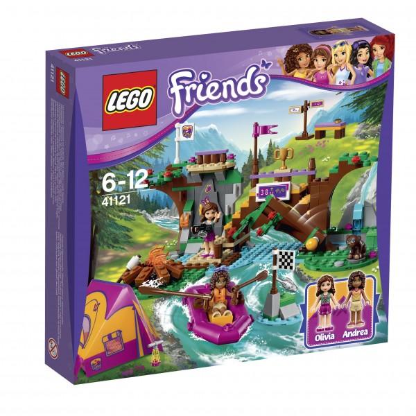 LEGO® Friends 41121 Abenteuercamp Rafting