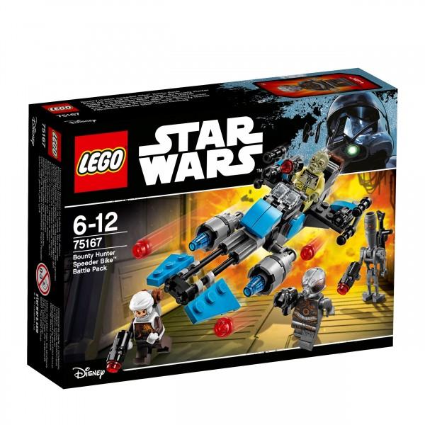 LEGO® Starwars 75167 Bounty Hunter Speeder Bike Battle Pack