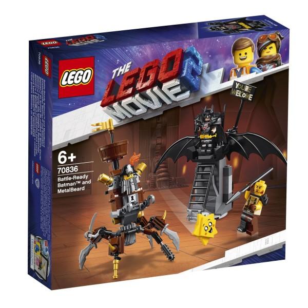 LEGO® Movie 2 - 70836 Einsatzbereiter Batman™ und EisenBart