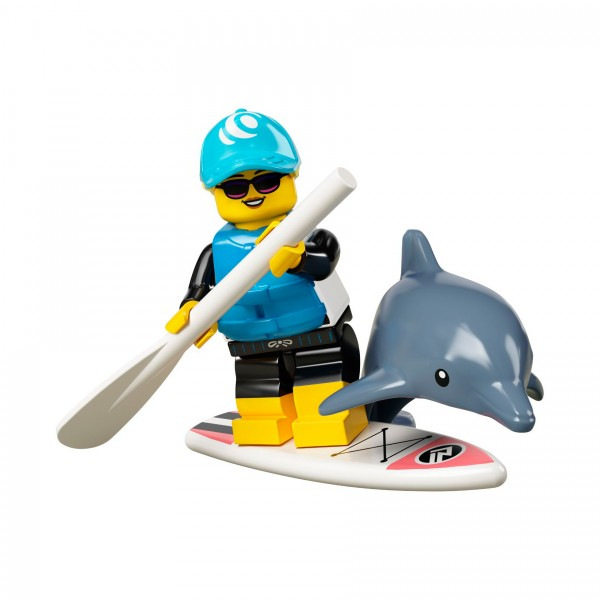LEGO® Minifigur Serie 21 71029-01: Stand-up-Paddler