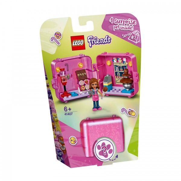 LEGO® Friends 41407 Olivias magischer Würfel - Süßwarengeschäft